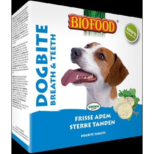 Huismerk Biofood dogbite hondensnoepje naturel (tandverzorging)