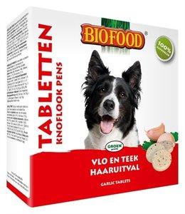 Biofood hondensnoepjes bij vlo pens