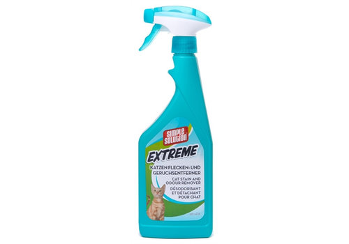 Simple solution stain & oder vlekverwijderaar kat extreme
