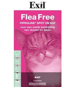 Exil flea free fiproline spot on kat