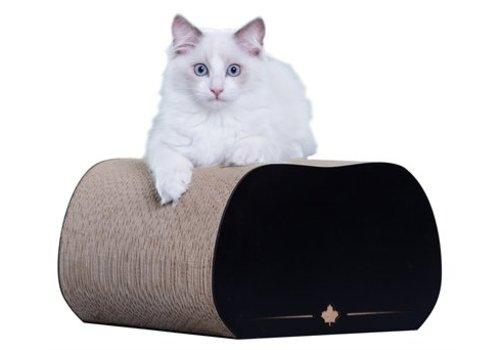 Canadiancat company krabplank playstone zwart / wit