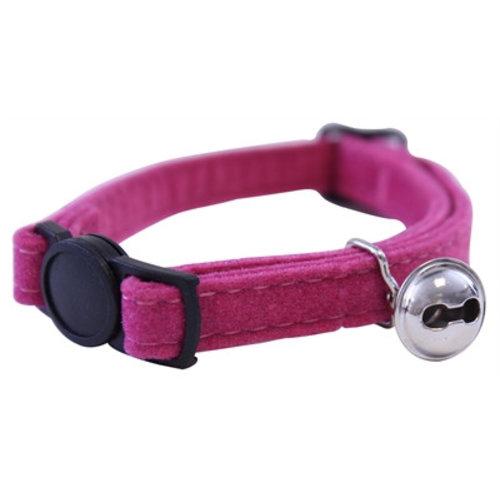 Huismerk Out & about kattenhalsband supersoft roze