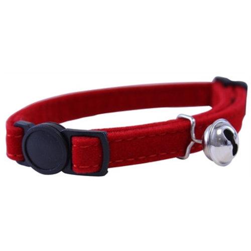 Huismerk Out & about kattenhalsband supersoft rood