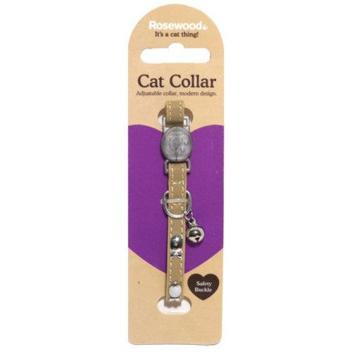 Huismerk Kattenhalsband naturel