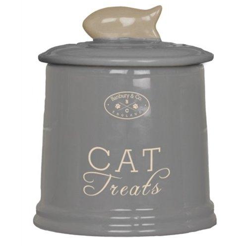 Huismerk Banbury & co voorraadpot kat keramiek
