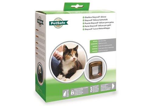 Petsafe kattenluik handmatig tot 7 kg houtnerfafw