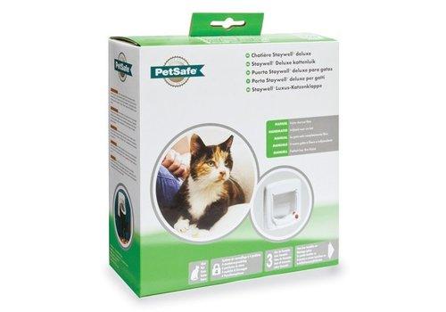 Petsafe kattenluik tot 7 kg handmatig wit