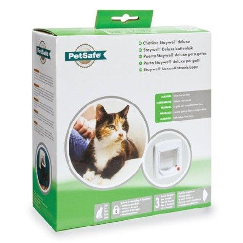 Petsafe Petsafe kattenluik tot 7 kg handmatig wit