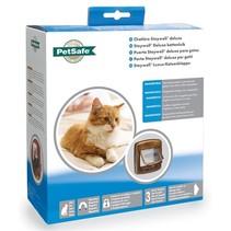 Petsafe kattenluik tot 7 kg magnetisch slot hout