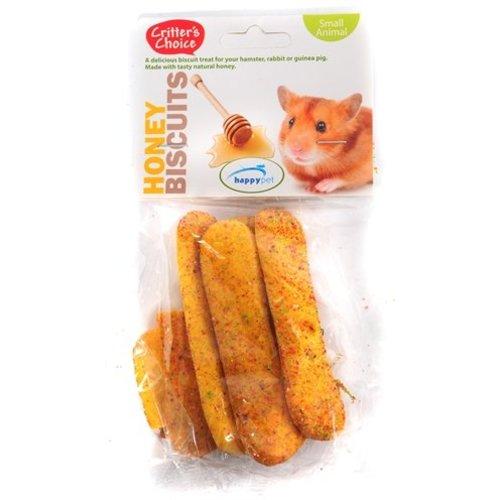 Huismerk 6x critter's choice honey biscuits