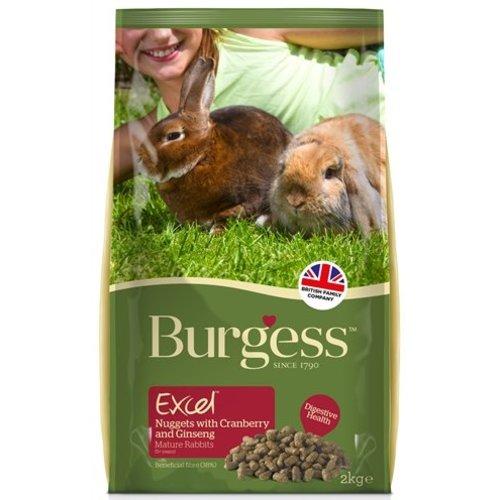 Burgess Burgess excel rabbit mature cranberry & ginseng