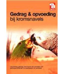 Boek over dieren gedrag en opvoeding bij kromsnavels