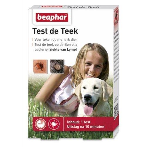 Huismerk Beaphar test de teek