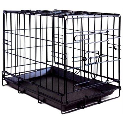 Huismerk Adori bench 1 deur zwart