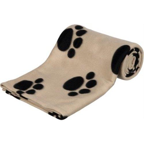 Huismerk Trixie barney fleece hondendeken beige