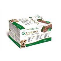 Applaws dog pate multipack country selection