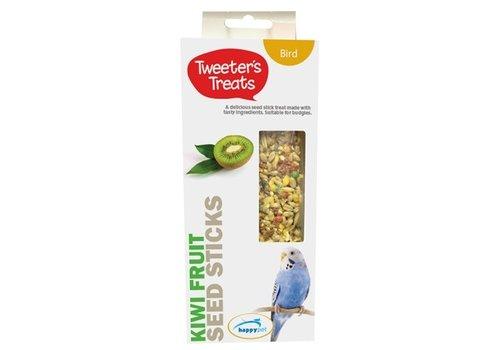 Tweeter's treats zaadsticks parkiet kiwi
