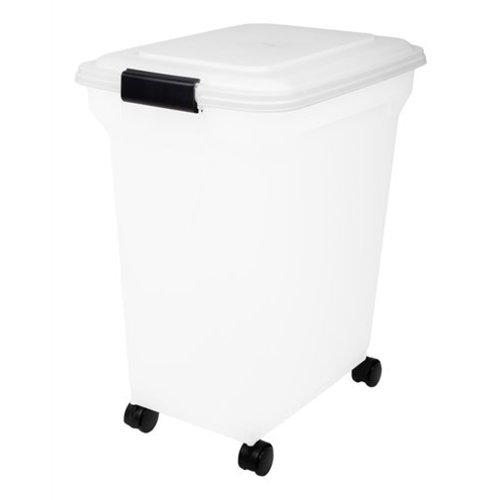 Huismerk Bewaarcontainer luchtdicht transparant / wit