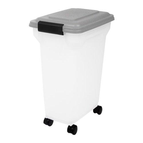 Huismerk Bewaarcontainer luchtdicht transparant / grijs