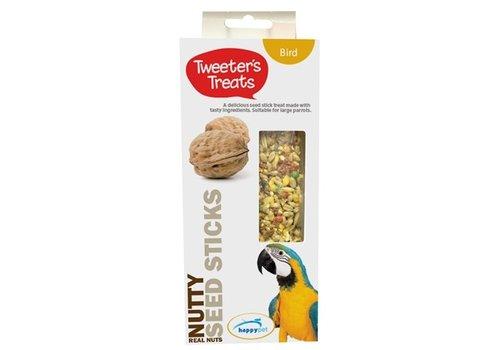 Tweeter's treats zaadsticks papegaai noot