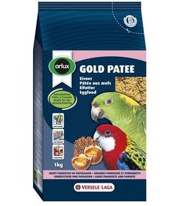 Orlux gold patee eivoer grote parkiet/papegaai