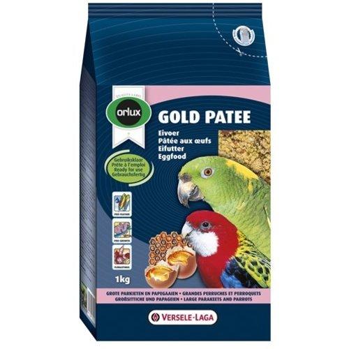 Huismerk Orlux gold patee eivoer grote parkiet/papegaai