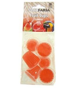 Zoofaria fruitkuipje aardbei