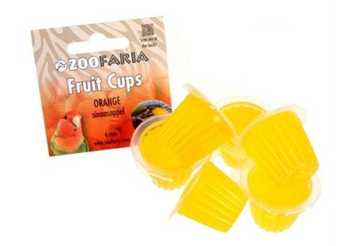 Zoofaria fruitkuipje sinaasappel papegaai