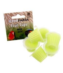 Zoofaria fruitkuipje meloen papegaai