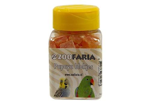 Zoofaria papayablokjes