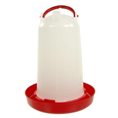 Huismerk Olba drinktoren plastic rood