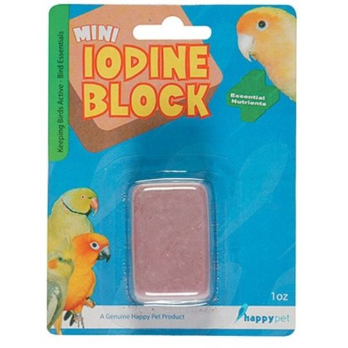 Huismerk Happy pet mini iodine block