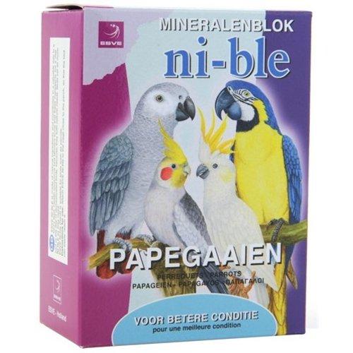 Huismerk Esve ni-ble mineralen pikblok papegaai roze