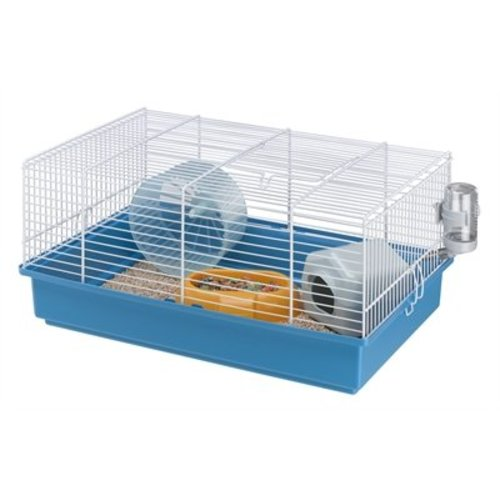 Huismerk Ferplast hamsterkooi criceti 9 blauw