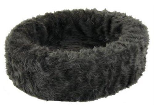 Petcomfort katten / hondenmand bont grijs