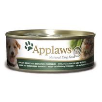 16x applaws dog blik chicken / beef / liver