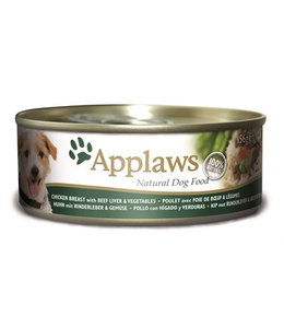 16x applaws dog blik chicken / beef / liver