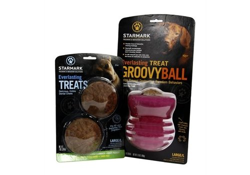 Starmark everlasting groovy ball voerbal met treat veggie