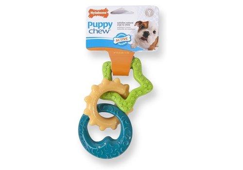Nylabone durable chew puppy bijtringen