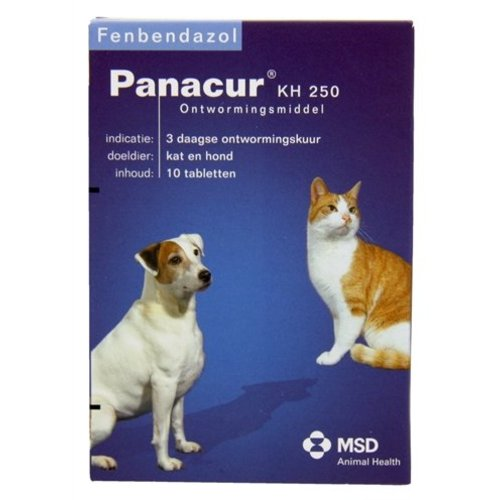 Huismerk Panacure hond/kat