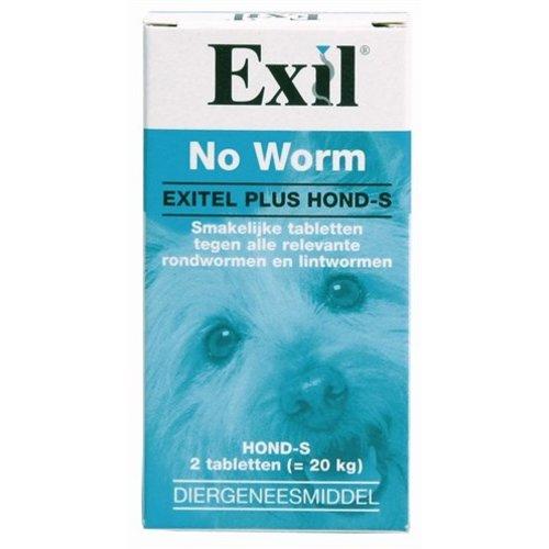 Huismerk Exil hond no worm tabletten