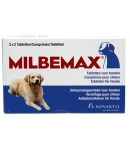 Milbemax tablet ontworming hond