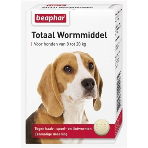 Huismerk Beaphar wormtablet hond