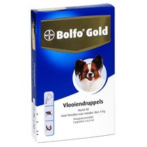 Bolfo gold hond vlooiendruppels