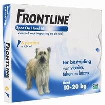 Frontline hond spot on medium