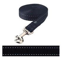 Rogz for dogs snake lijn zwart