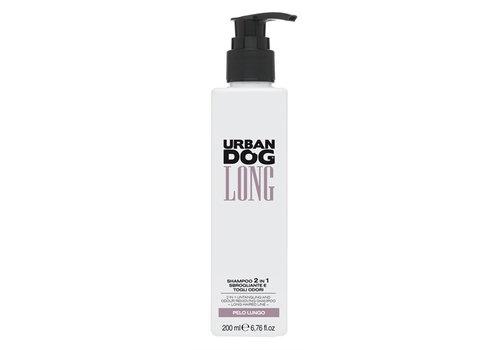 Urban dog antiklit en geurverwijderende 2 in 1 shampoo long voor lange vacht