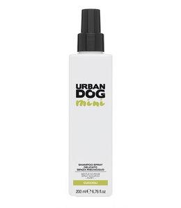 Urban dog milde droogshampoo spray mini voor puppy en senior