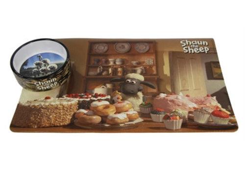 Shaun the sheep placemat met voerbak