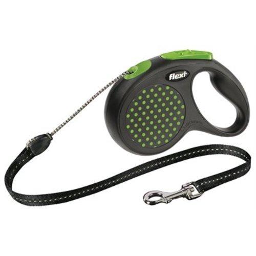 Flexi Flexi rollijn design cord groen